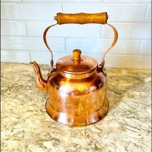 VTG copper tea kettle